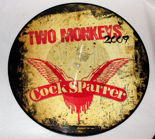 COCK SPARRER / TWO MONKEYS